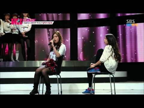SBS [K팝스타3] - 2분안에 모든것을 보여줄 투미닛(조윤경,장한나,김수현)