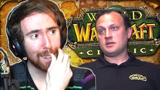 Asmongold Reacts: Burning Crusade LEGACY After Classic? WoW Interview with Ion Hazzikostas