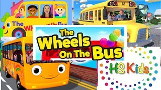The Wheels On The Bus - many video clippings | HS Kids
