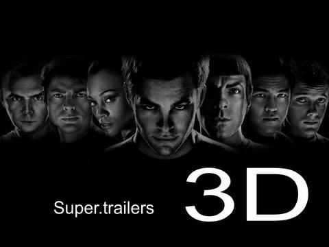STAR TREK alem da escuridão trailer em 3D