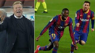 Dembele scores VITAL late winner against Valladolid | But Barcelona must improve ahead of El Clasico