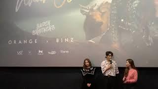 Châu Đăng Khoa: Orange đòi đóng MV Tình nhân ơi nhưng xem kịch bản thấy cảnh nóng bạo quá nên trốn