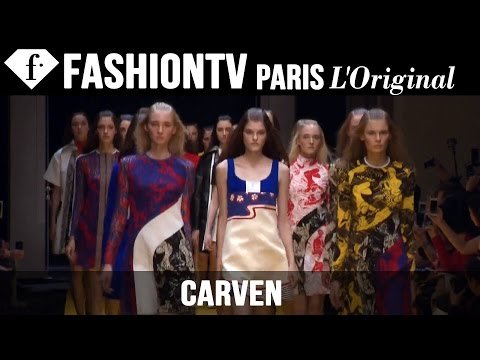 Carven Spring/Summer 2015 | Paris Fashion Week | FashionTV