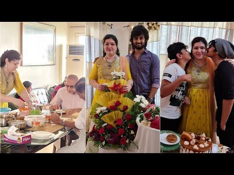 Mahesh Babu's sister Priyadarshini's birthday celebration pics
