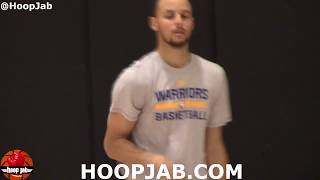 Steph Curry Goes 72-for- 85 From 3 Point Land During Around The World Shooting Workout. HoopJab NBA