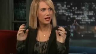 Kristen Wiig - Up your Butthole - Jimmy Fallon 2017