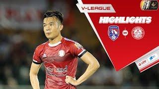 Hoàng Thịnh sút xa bất ngờ, TPHCM lấy trọn 3 điểm kịch tính trước Than Quảng Ninh | VPF Media