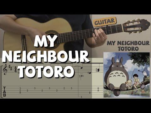 My Neighbour Totoro (Guitar) となりのトトロ (ギター) 鄰家的龍貓 (吉他)