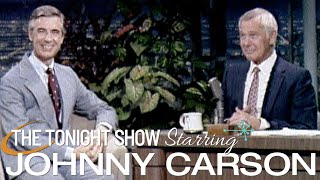 Mr. Rogers First Appearance on The Tonight Show Starring Johnny Carson - 09/04/1980