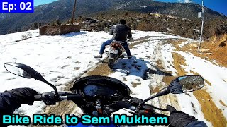 Winter Bike Ride to Sem Mukhem || सेम मुखेम  || By Alok Rana || Pahadi Biker