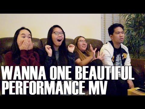 Wanna One (워너원) - Beautiful Performance MV (Reaction Video)