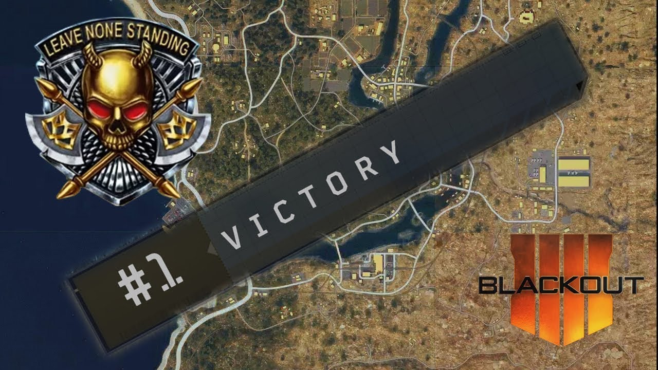 Back-To-Back Win!   Quad Win on Blackout   Call of Duty - Black Ops 4