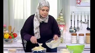دجاج مشوى بالزبادى - مكرونة بالبطاطس - بسبوسة بالشيكولاتة - نجلاء الشرشابى - افطار رمضان