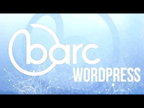 How to add Barc to your Wordpress Page