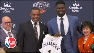 Zion Williamson appreciates the family feel of the city of New Orleans   2019 NBA Draft