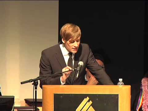 LGBT Graduation 2009 - Distinguished Service Award, Dustin Lance ...