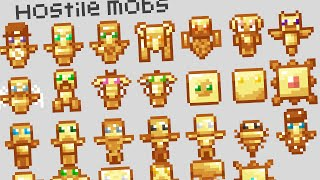 So i decided to make every Minecraft mob their own totem