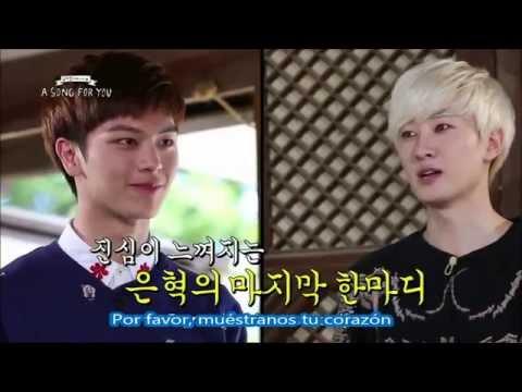 141107 SUBESPAÑOL A Song For You Escala de Belleza de Super Junior