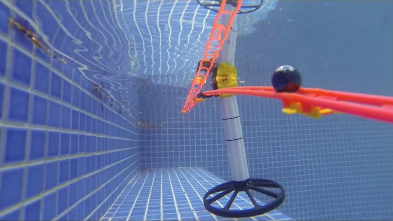 Marble Run In The Swimming Pool 26 Youtube
