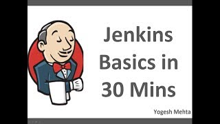 Jenkins CICD  | Learn Jenkins Basics in 30 Mins