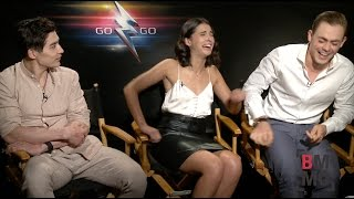 Dacre Montgomery, Naomi Scott & Ludi Lin Interview - Power Rangers