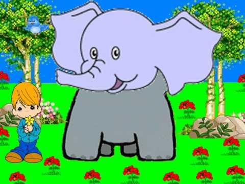 Canción Infantil El elefante del circo.