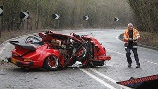 IDIOT PORSCHE DRIVERS, CRAZY PORSCHE DRIVING FAILS WEEK 3 JANUARY 2017