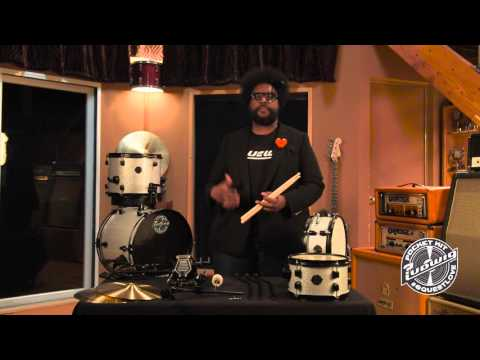 Ludwig Questlove Pocket Drum Kit | Buy at Footesmusic