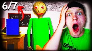 FINDING BALDI'S 7 PAGES! *IMPOSSIBLE!*