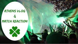 AEK Away | Vlog & Recap | AEK 2-1 Celtic (3-2 agg.)