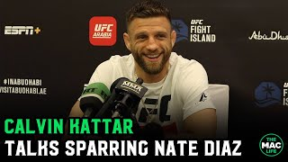 Calvin Kattar talks Max Holloway fight and sparring with Nate Diaz