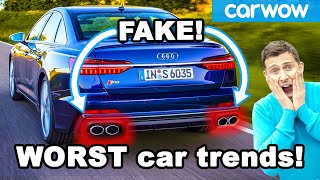 Worst 14 new car trends which must be STOPPED!