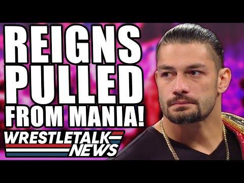 WWE SHUT DOWN! Vince McMahon FURY At AEW! Roman Reigns OFF WrestleMania 36!   WrestleTalk News