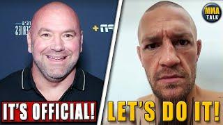 BREAKING! Conor McGregor vs Dustin Poirier OFFICIAL for UFC 264, Ngannou fires back at Fury,Vettori