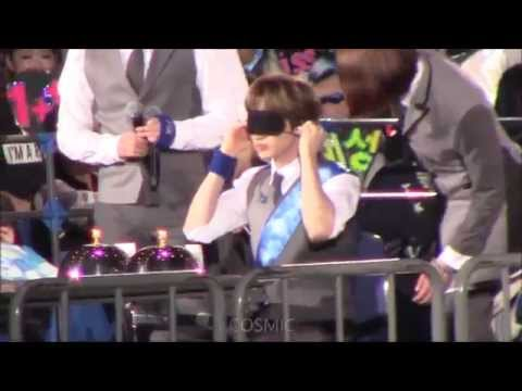 [fancam] 150226 SUPERJUNIOR fanmeet in Japan _  Eunhyuk eats Cakes