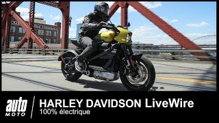 Essai Harley LiveWire : l'avis d'Auto-Moto