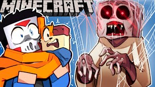 GRANNY WANTS US OUT OF THE HOUSE ON MINECRAFT! - (SCARY MAP)