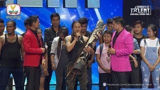 Cambodia's Got Talent Season 2   Live Semi Final   Week 3 - ក្រុមខ្យាដំរី
