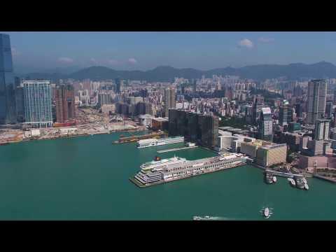 """Hong Kong's Newest Tourist Attraction -- """"Ocean Terminal Deck"""""""