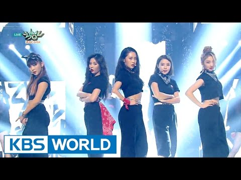 4minute - HATE / Crazy | 포미닛 - 싫어 / 미쳐 [Music Bank HOT Stage / 2016.02.12]