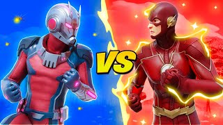 ANTMAN vs THE FLASH!