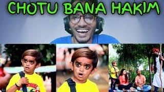 CHOTU BANA HAKIM   Khandesh Hindi Comedy   Chotu Comedy   REACTION