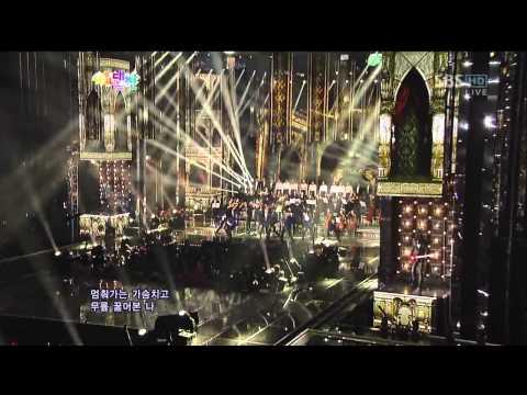 인피니트 (INFINITE) [추격자 (The Chaser)] @SBS 2012 가요대전 The Color of K-pop 20121229
