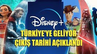 Disney Plus'ın Türkiye'ye Ne Zaman Geleceği Belli Oldu