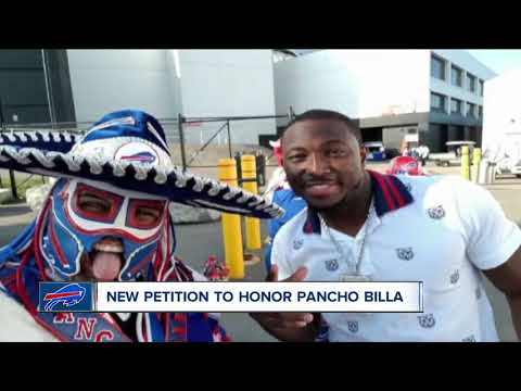 Fan starts petition for Bills to sign Pancho Billa to one-day contract