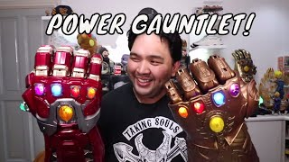 THE IRON MAN POWER GAUNTLET (AVENGERS ENDGAME INFINITY GAUNTLET)