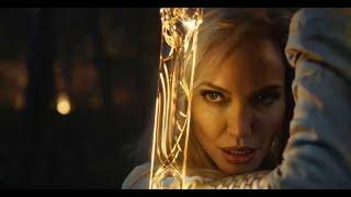 Así se ven Angelina Jolie y Salma Hayek como superheroínas en el primer adelanto de 'Eternals'