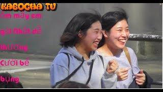 troll ôm gái nhật / hug trangers prank / thử ôm con gái nhật và cái kết / troll japanese by hugging
