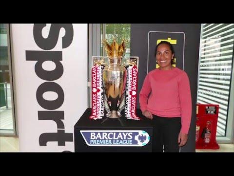 Talksport Agency Tour with Barclays Premier League Cup