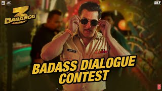 Dabangg 3: Salman Khan- Action Promo video..